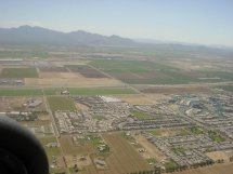 Flying over Goodyear, Arizona