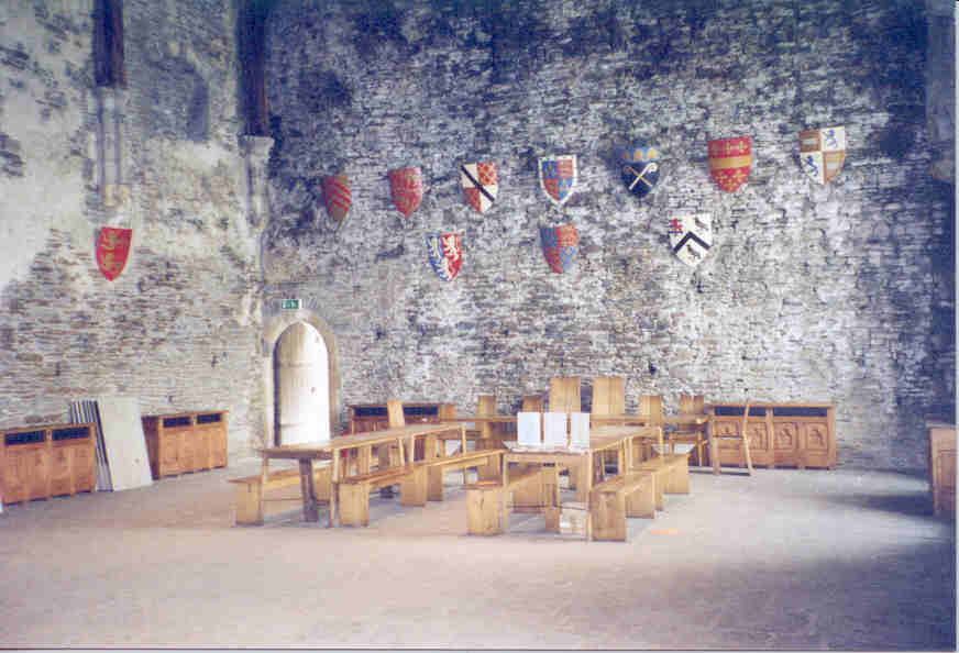 The Great Hall, Caerphilly Castle