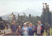 From left to right, Jim (me), Greg (my nephew), Mom, Carol (my sister), and Dad at Powerscourt