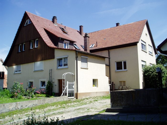 Another view of my grandfather's house, Ofterdingen, Germany