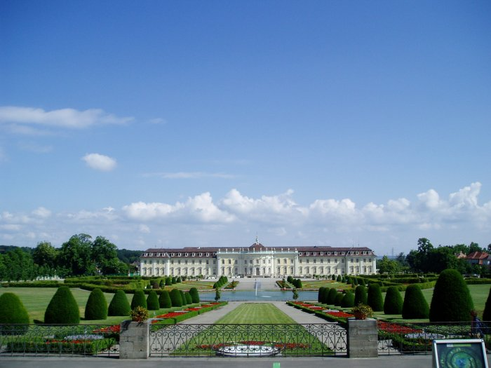 Ludwigsburg Palace and Baroque Gardens, north of Stuttgart