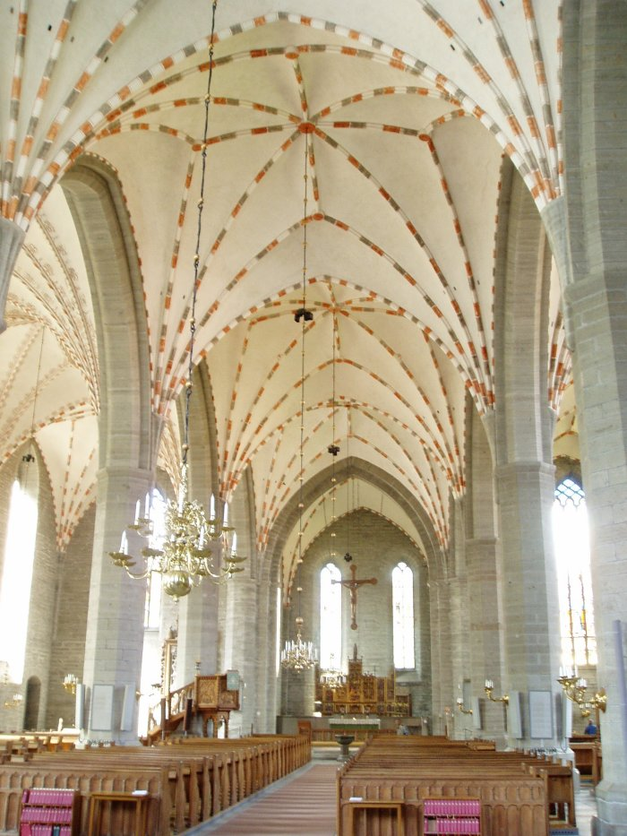 Inside Vadstena Church