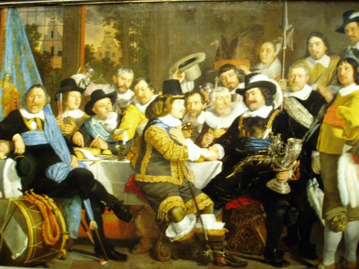 'Banquet in celebration of the Treaty of Munster' by Bartholomeus van der Helst, Rijksmuseum, Amsterdam