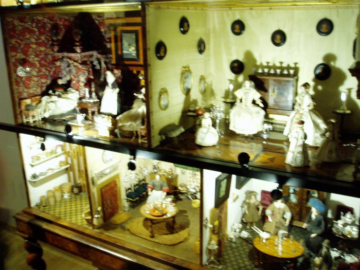 A very expensive dollhouse displayed at the Rijksmuseum, Amsterdam