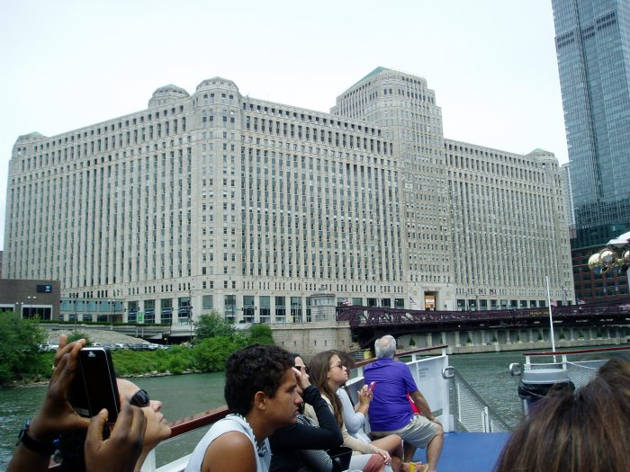 Along the Chicago River