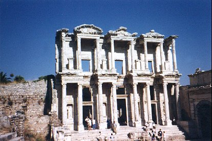 Ancient Library, Ephesus, Turkey