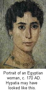 Hypatia of Alexandria may have looked like this