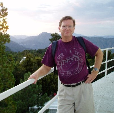 Jim at Mt. Wilson, 2006